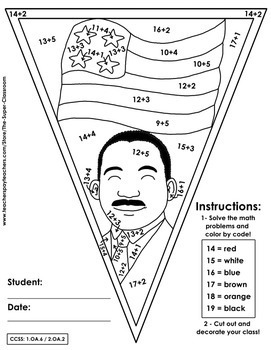Martin Luther King Jr - Pennants