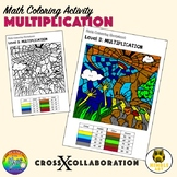 Math Colouring Activity: Multiplication