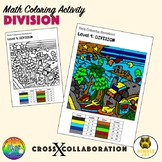 Math Colouring Worksheet: Division