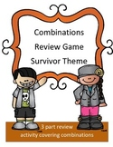 Combinations Math Review Game: Survivor Theme