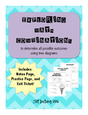 Math Combinations with Tree Diagrams (Real-World Multiplication)