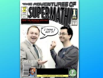 Math Comic Powerpoint (Adventures of Supermath!)