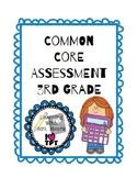 Math Common Core 3rd Grade Assessment