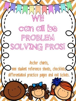 Math Common Core Addition and Subtraction Differentiated Word Problem Solving