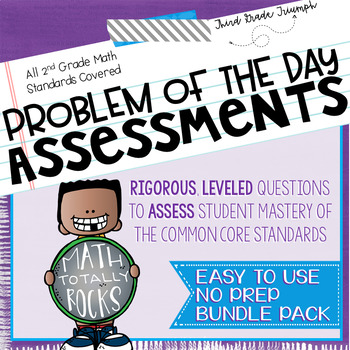 Math Common Core Assessments Second Grade