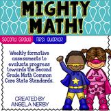 Math CCSS Assessments - SECOND GRADE - First Quarter