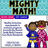 SECOND GRADE Math Formative Assessments - First Quarter
