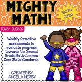 SECOND GRADE Math Summative Assessments - Fourth Quarter
