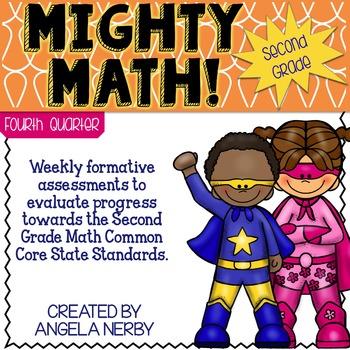 Math CCSS Assessments - SECOND GRADE - Fourth Quarter