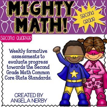 SECOND GRADE Math Formative Assessments - Second Quarter