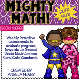 SECOND GRADE Math Formative Assessments - Second Quarter