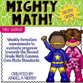 SECOND GRADE Math Formative Assessments - Third Quarter