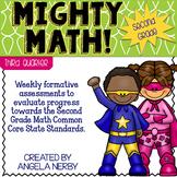 SECOND GRADE Math Formative Assessments - Third Quarter
