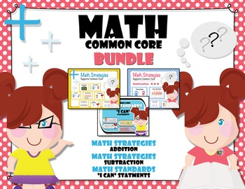 BUNDLE - Math Strategies and Standards {Common Core Aligned}