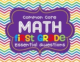 Math Common Core Essential Question Posters