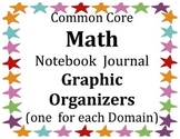 Math Common Core GRAPHIC ORGANIZERS Journal Notebook (1 fo