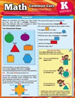 Math Common Core Kindergarten