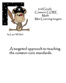 Math Common Core Mini Learning Target Approach Packet