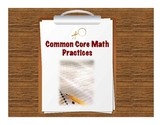 Math Common Core Practices Posters