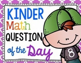Math Common Core Question of the Day for Kindergarten