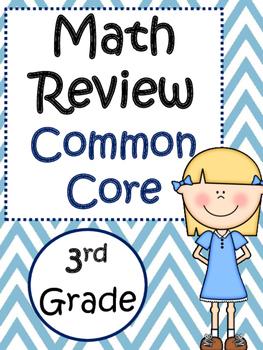 Math Common Core Review: 3rd Grade
