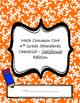 Math Common Core Standards Checklist - 4th Grade - California
