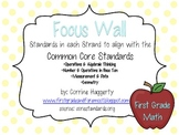 Math Common Core Standards: First Grade