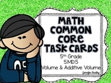 Math Common Core Task Cards 5th Grade 5.MD.5 Volume and Ad
