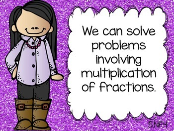 Math Common Core Task Cards 5th Grade CCSS 5.NF.4 Multiplying Fractions