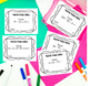 Math Common Core Task Cards 5th Grade CCSS 5.OA.1