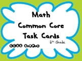 Math Common Core Task Cards 6th Grade CCSS 6.RP.2 (Equivalent Ratios)