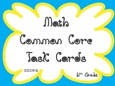 Math Common Core Task Cards 6th Grade CCSS 6.RP.3b
