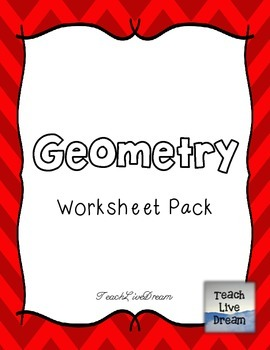 Math Common Core Worksheet PACK (4.G)