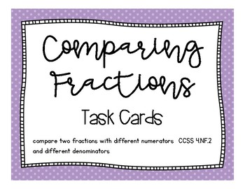 Math - Comparing Fractions