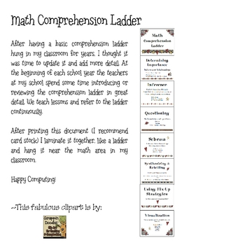 Math Comprehension Ladder2
