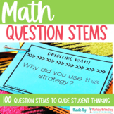 Math Comprehension Question Stems