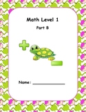 Math Computation Level 1 B