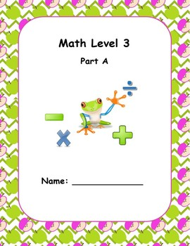 Math Computation Level 3 A