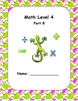 Math Computation Level 4 B