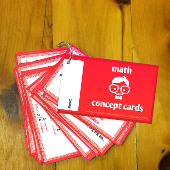 FREE: Math Concept Cards for Upper Elementary (Grades 4, 5