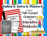 Math Interactive Notebooks: Vocabulary