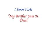 My Brother Sam Is Dead Novel Study