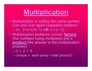 Math Concepts- Grades 2-5