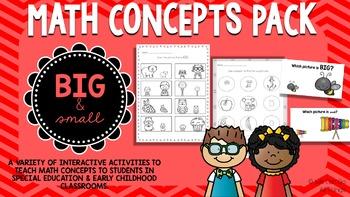 Math Concepts Pack: Big & Small