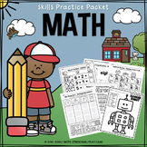 Math Skills Practice Packet - No Prep - Distance Learning