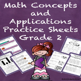 Special Education Math Concepts and Applications Grade 2 P