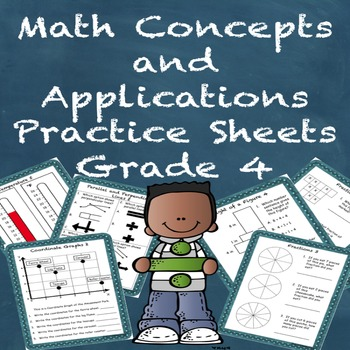 Special Education Math Concepts and Applications Practice