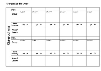 Math Conferring Guided Groups Template!!