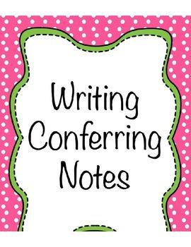 Math Conferring Notes