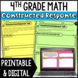 Math Constructed Response {4th Grade}